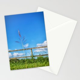 Grass in the country Stationery Cards