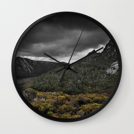 Storm over Cradle Mountain Wall Clock