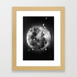 Luna Framed Art Print