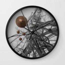 nano-black Wall Clock