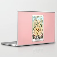 reading Laptop & iPad Skins featuring PIZZA READING by Sagepizza
