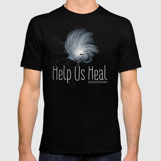 Help Us Heal - Hurricane Sandy Relief T-shirt