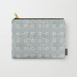 Underwear Grey Color Carry-All Pouch