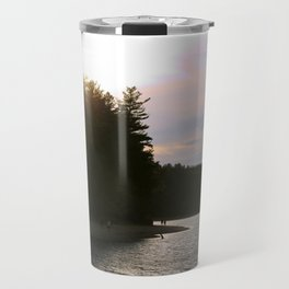 Sunset at Concord's Walden Pond 2 Travel Mug