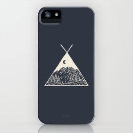 feel the outdoors iPhone Case