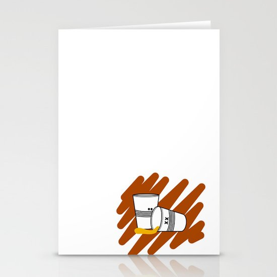 Another night Stationery Cards