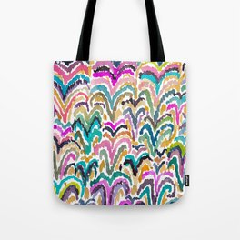 Sprouting Abstract Floral Tote Bag