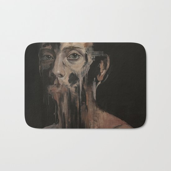 Nothing To Say Bath Mat