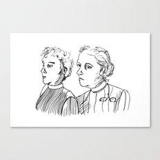 Frauen Canvas Print