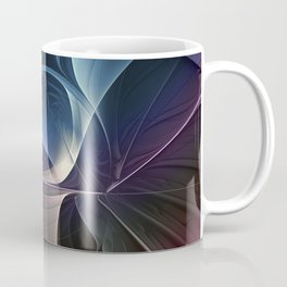 Fractal Mysterious, Colorful Abstract Art Coffee Mug