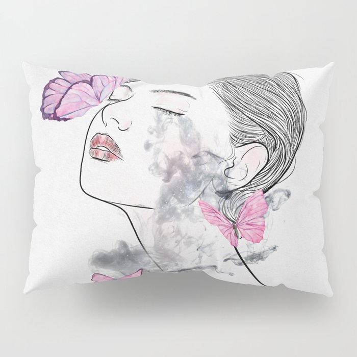 A touch of butterflies. Pillow Sham