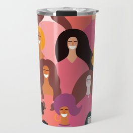 Happy Women Travel Mug