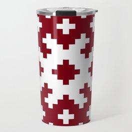 Latvian symbol Travel Mug