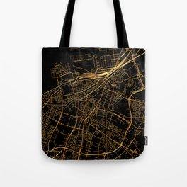 Malmo map, Sweden Tote Bag