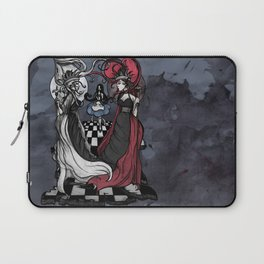 Alice and her Queens: The Checkered Board Laptop Sleeve