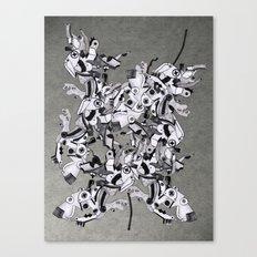 Metal Gear(s) Canvas Print