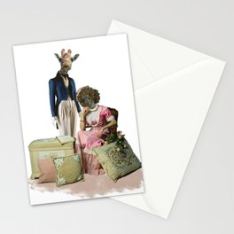 Funny Animal Couple Stationery Cards