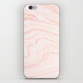 Blush Marble iPhone Skin