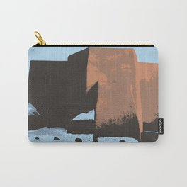 St Francis de Asis Take Two Carry-All Pouch