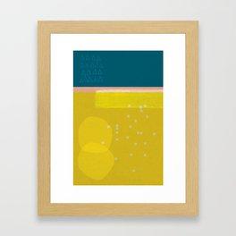 Sisi_ 3 abstract art Framed Art Print