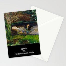 "John Everett Millais, "" Ophelia "" Stationery Cards"