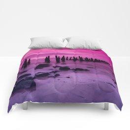 Pink Sky #3 Comforters