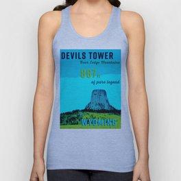 Devils Tower Wyoming Unisex Tank Top
