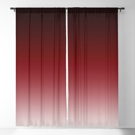 Red Gradient 3 Blackout Curtain