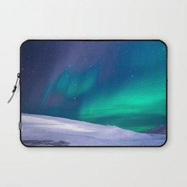 winter sky aurora Laptop Sleeve