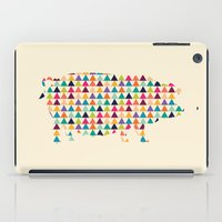piglet iPad Cases featuring Piglet Geometric by ArtisanObscure Prints