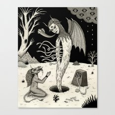 Arisen Canvas Print