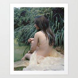 MerGirl Art Print