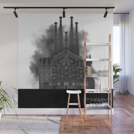 HexArchi - Spain, Barcelona, Basilica and Expiatory Church of the Holy Family Wall Mural
