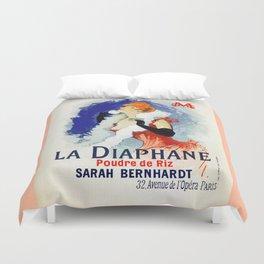 La Diaphane Sarah Bernhardt Duvet Cover