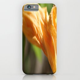 Yesterday's Flower iPhone Case