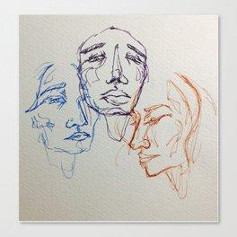 3's Canvas Print
