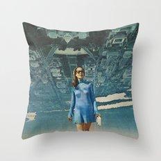 Amy White House Throw Pillow