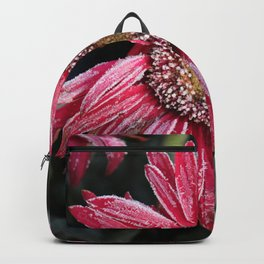 Frosty Pink Gerber Daisy Backpack