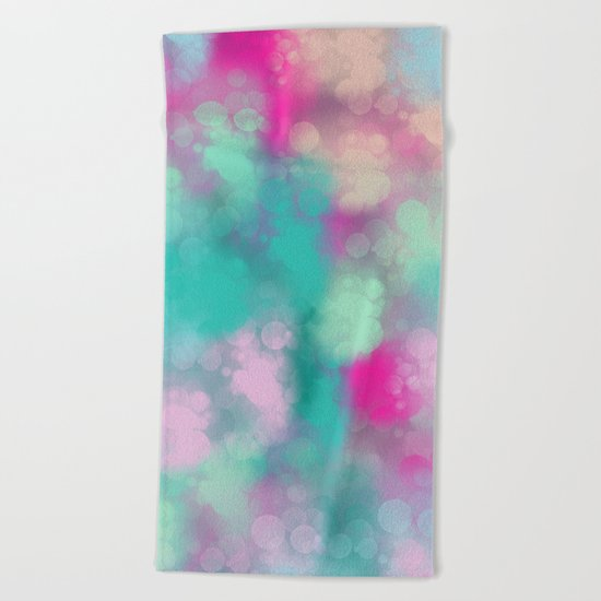 Abstract 3 Beach Towel