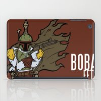 boba iPad Cases featuring Boba Fett by Twisted Dredz