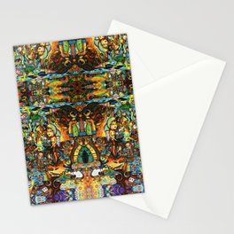 BBQSHOES™: Ebent-D Psychedelic Art Stationery Cards