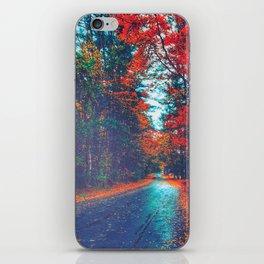Autumn Way iPhone Skin