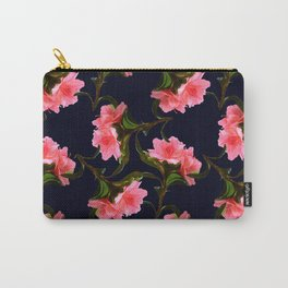 Pink Rhododendron Carry-All Pouch