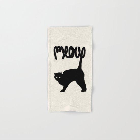 Meow Hand & Bath Towel