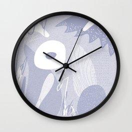 fl0wer3 Wall Clock