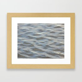 Wavering Waters Framed Art Print