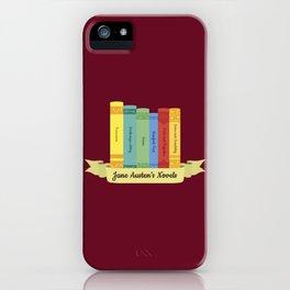 The Jane Austen's Novels III iPhone Case
