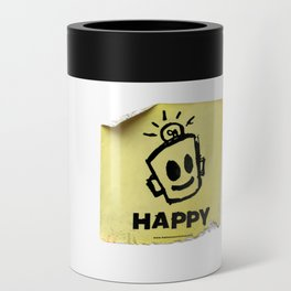 The Happy Sticker Can Cooler