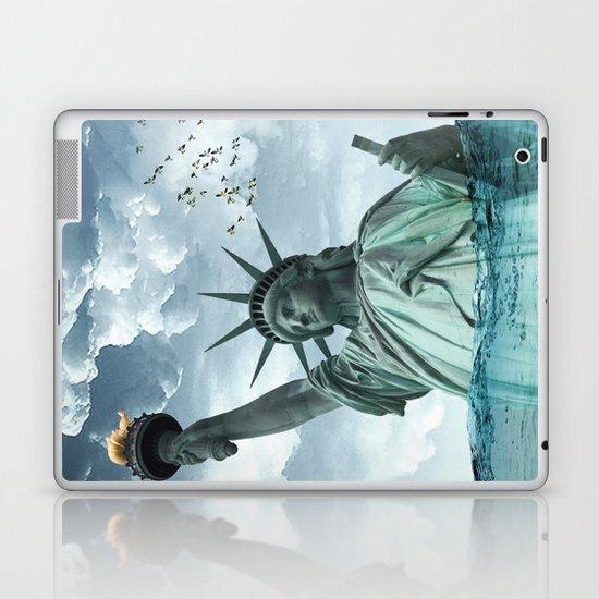 the water line Laptop & iPad Skin