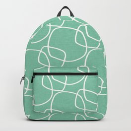 Bubble Pattern Mint #homedecor Backpack